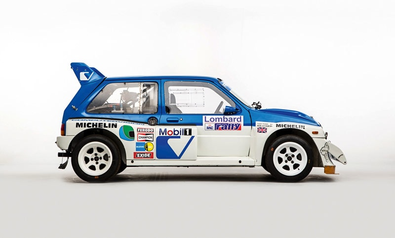 MG Metro 6R4 from the side