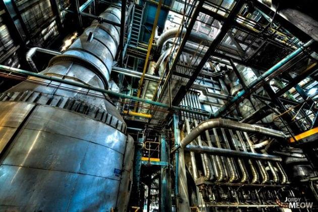 Abandoned power plant IM
