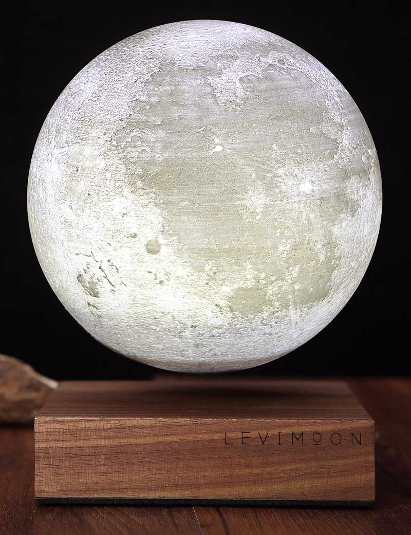 World's first levitating moon light