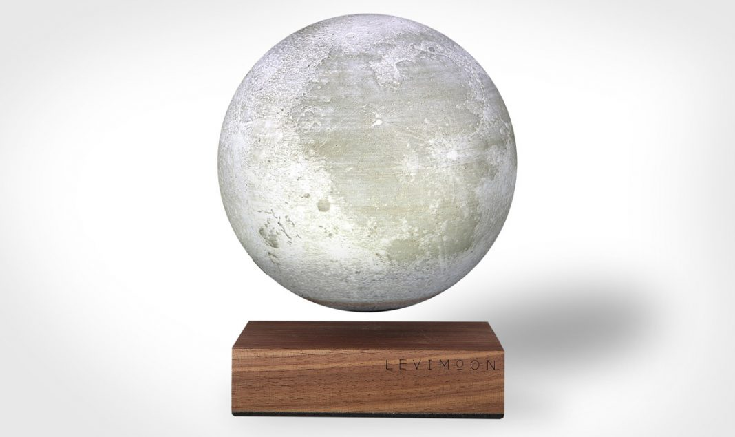 The world's first levitating moon light