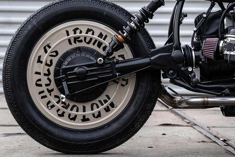 BMW custom rear wheel