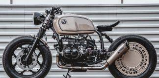 1985 BMW R80 custom bike by Ironwood