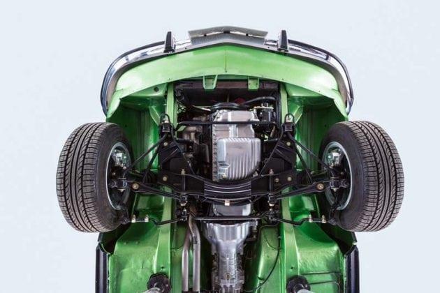 BMW 3.0 CSL underneath