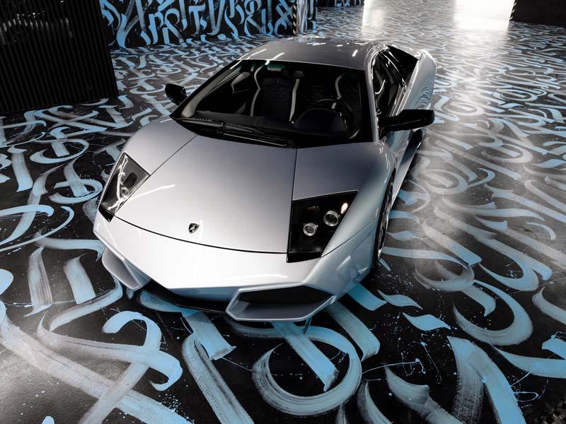 Lamborghini Murcielago polished