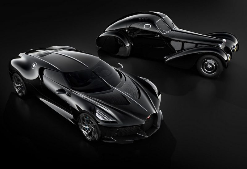 Bugatti La Voiture Noire: The world's most expensive car
