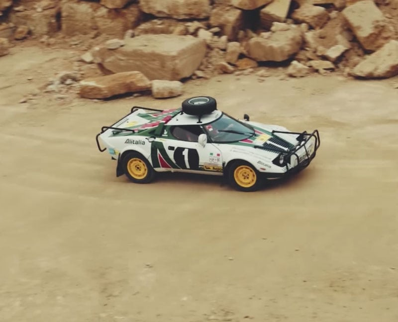 Rally legend reawakened: the Lancia Stratos Safari