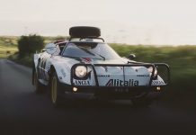 Rally legend reawakened: the Lancia Stratos Safari