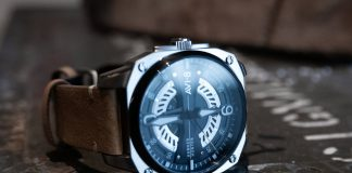 The AVI-8 Hawker Hunter Watch