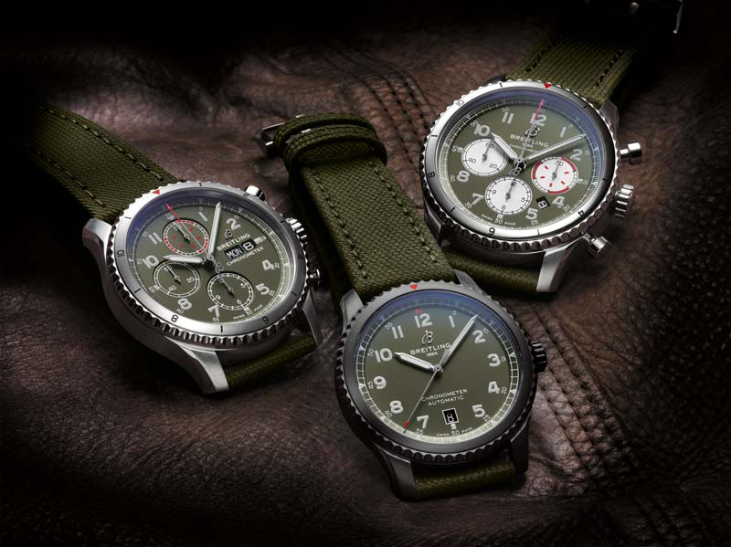 The Breitling Curtiss Warhawk collection