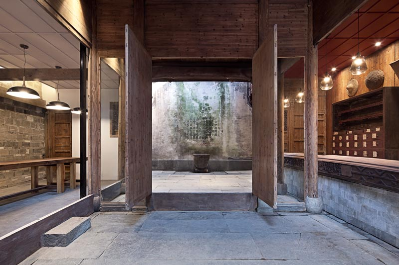 Huizhou property entrance with natural lighting