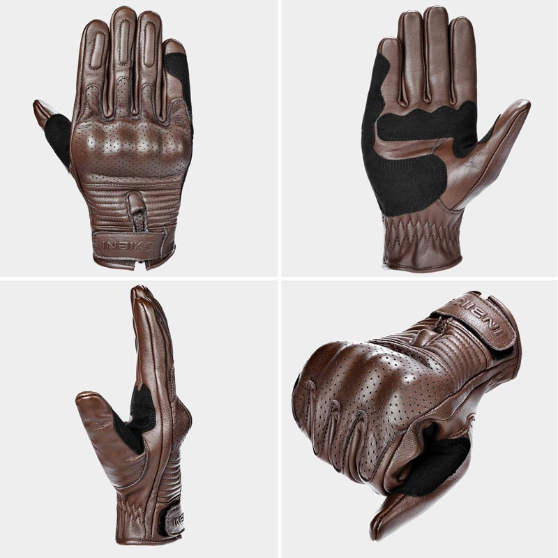 10 retro motorcycle gloves - Inbike