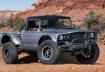 1968 Jeep M-715 Gladiator 'Five-Quarter' Concept