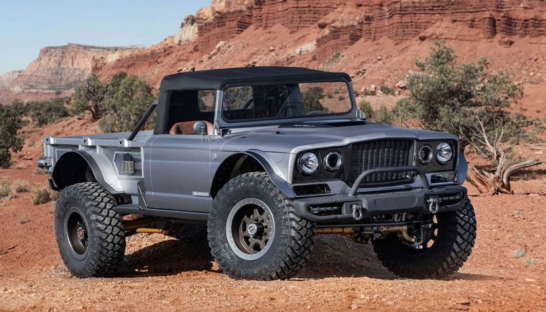 1968 Jeep M-715 Gladiator 'Five-Quarter' Concept