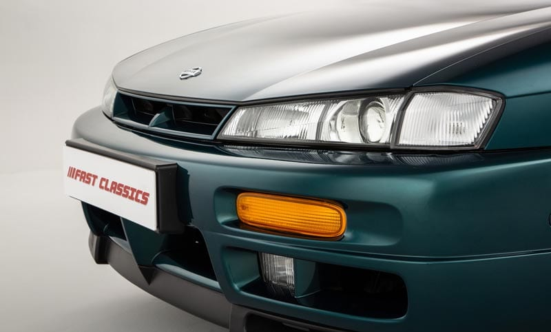 The S14a came with more aggressive headlights compared to the standard S14