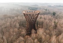 Camp Adventure Forest Tower in Denmark