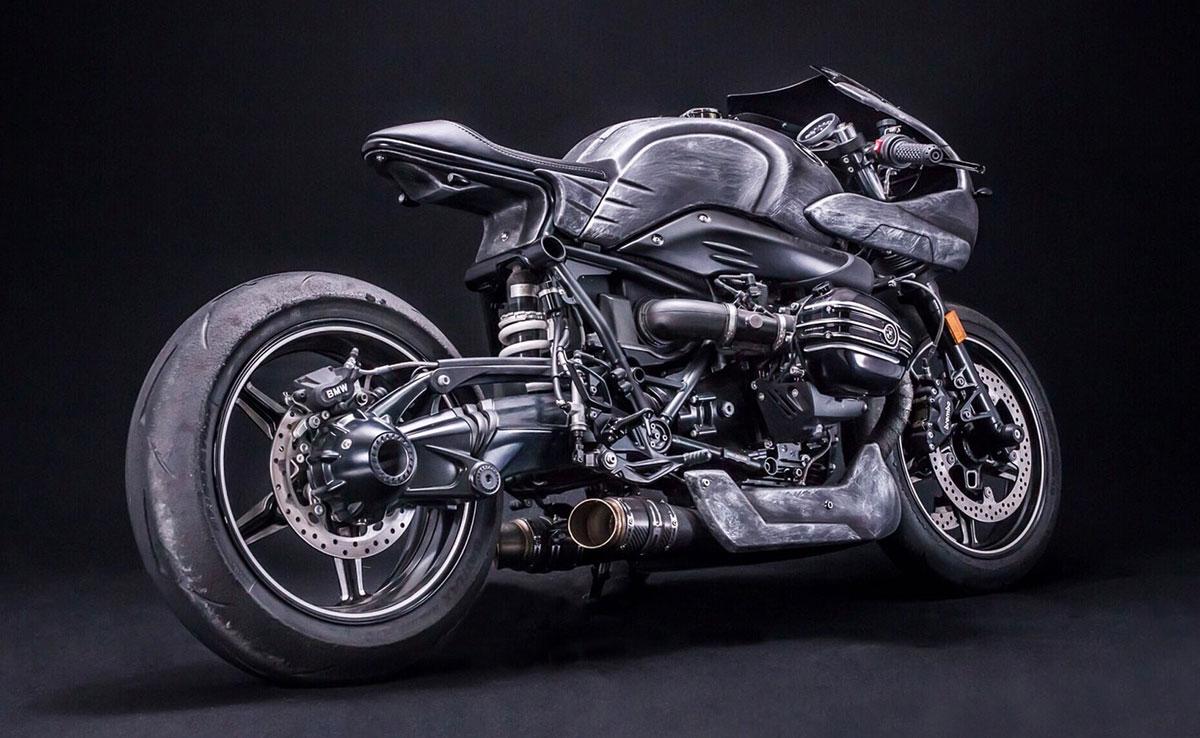 Customized BMW R nineT: Iron Racer Mark 1