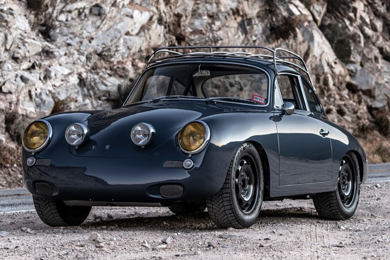 a blend of original 356 from 1964 and 911 technologies