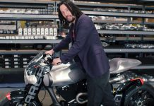 Keanu Reeves's Most Prized Motorcycles