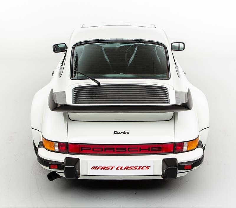Porsche 911 Turbo Whale Tail
