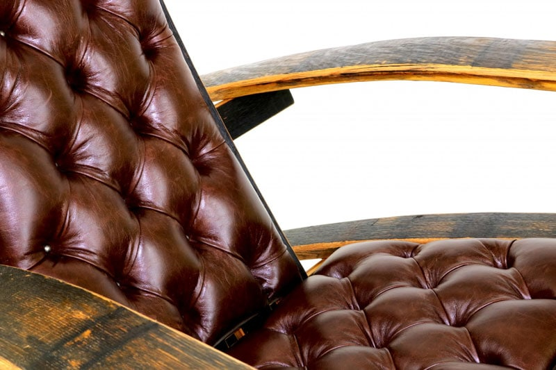 full-grain Italian leather that will be even softer and get a gorgeous patina with age