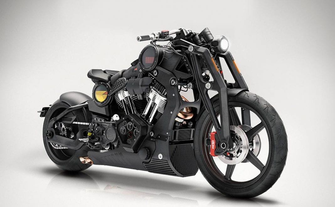 The P-51 Combat Fighter by Confederate Motorcycles