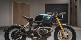 Custom BMW R100r: The Moon Crawler