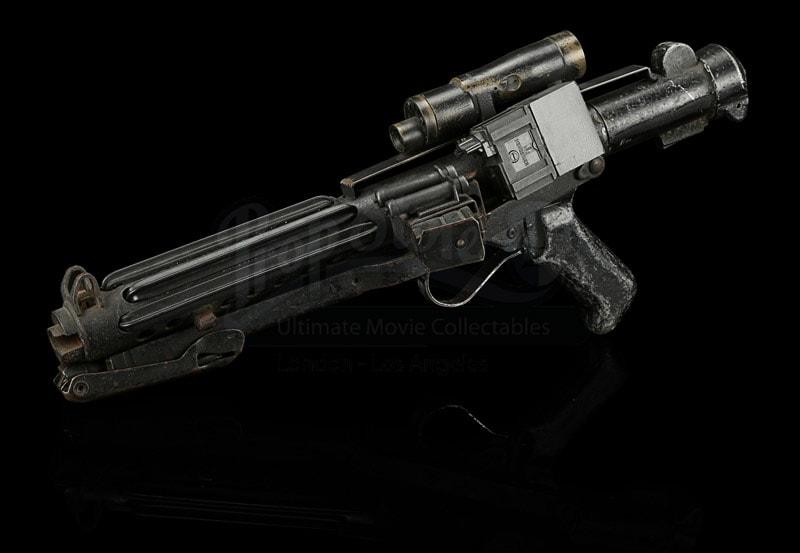 Original stormtrooper blaster from Star Wars