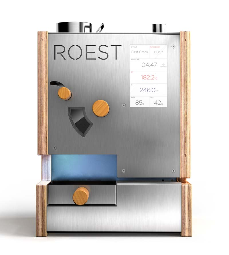 ROEST professional coffee sample roaster | Old News Club