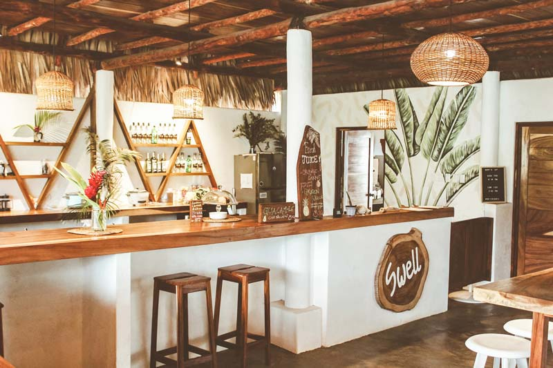 Swell – a Surf & Lifestyle Hotel bar area