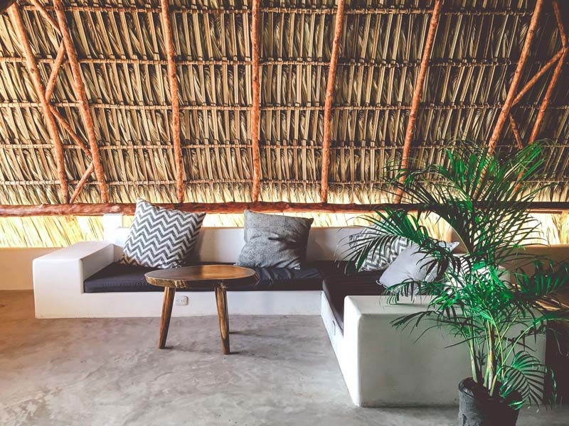 Surfers and travelers from around the world join this relaxing place