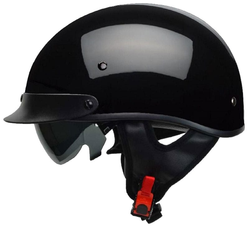 Vega Warrior half-helmet: sunshield helmet for cruising