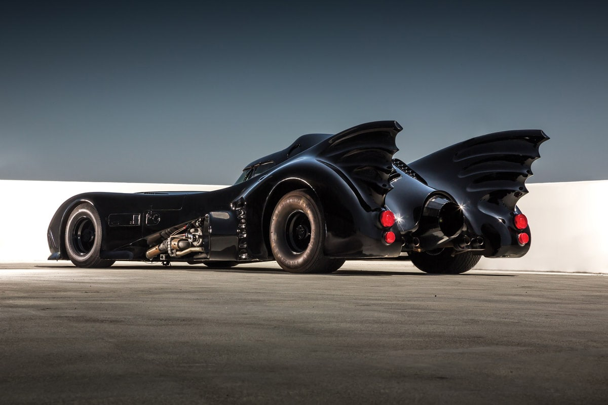 Hollywood Dream Machines exhibition: 1989 Batmobile