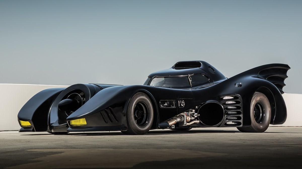 Hollywood Dream Machines exhibition: 1989 Batmobile