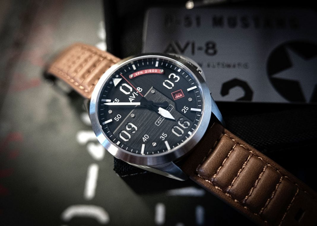 Avi-8 P-51 Mustang Automatic Bottisham Limited Edition