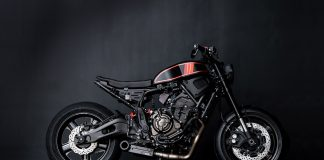 "Custom Yamaha XSR700: ""The Enforcer"""
