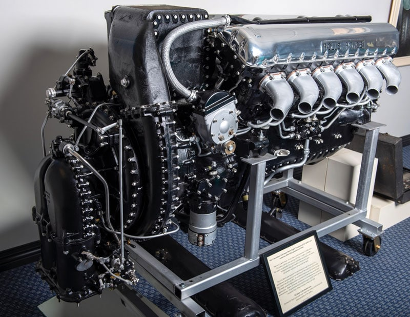 Rolls Royce Merlin engine for sale at RM Sothebys
