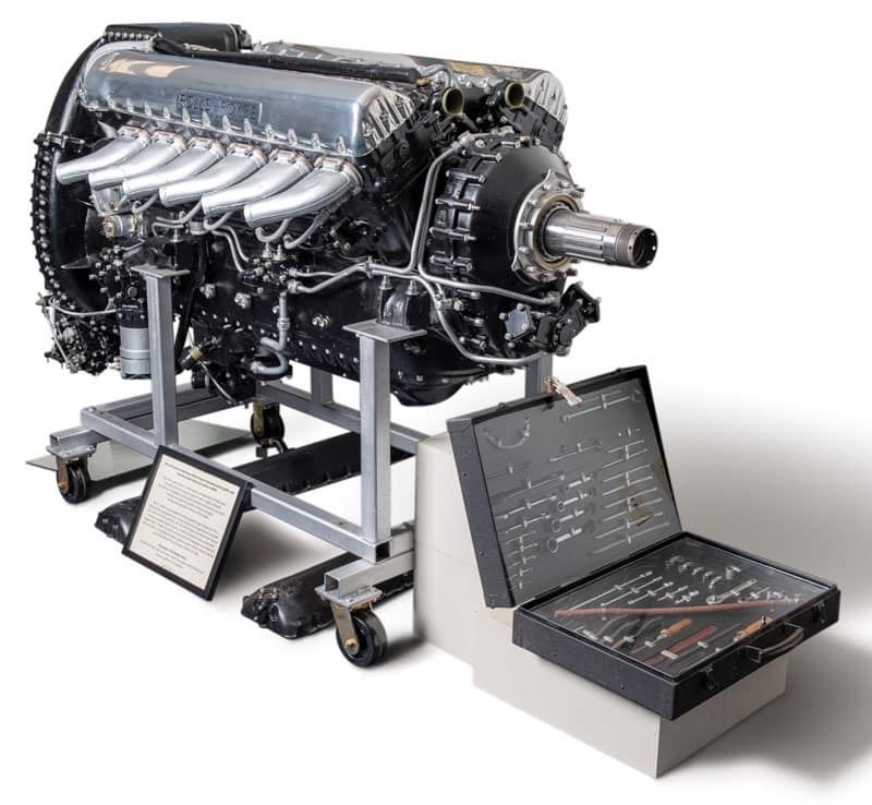 Guy Martin's Rolls Royce Merlin engine