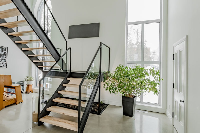 Stairway completely renoovated