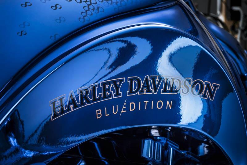 Harley Davidson 'Blue Edition'