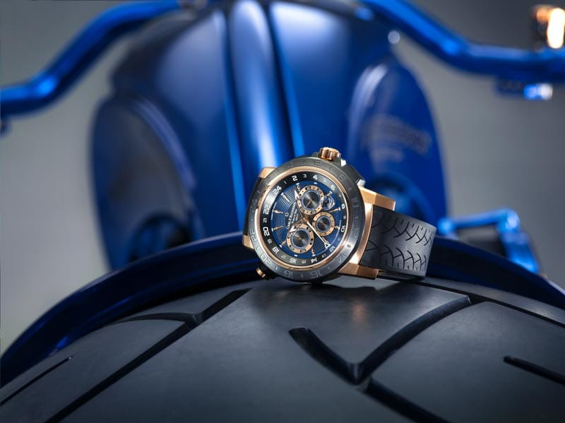 Combining custom bike design and the art of fine watchmaking