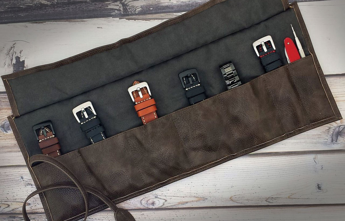 Top 10 best watch rolls: Metier Life Watch Roll for Travel Storage