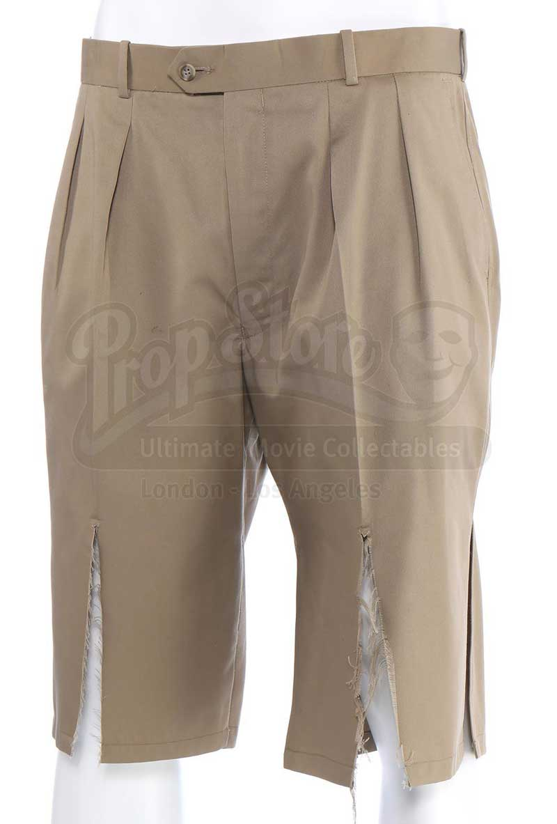 Shredded khaki pants from the Incredible Hulk TV Series