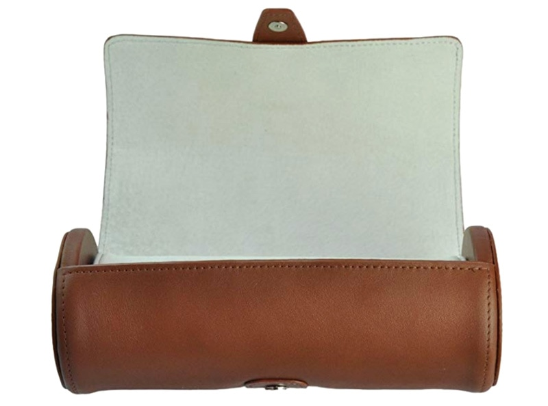 Royce leather deluxe watch roll case