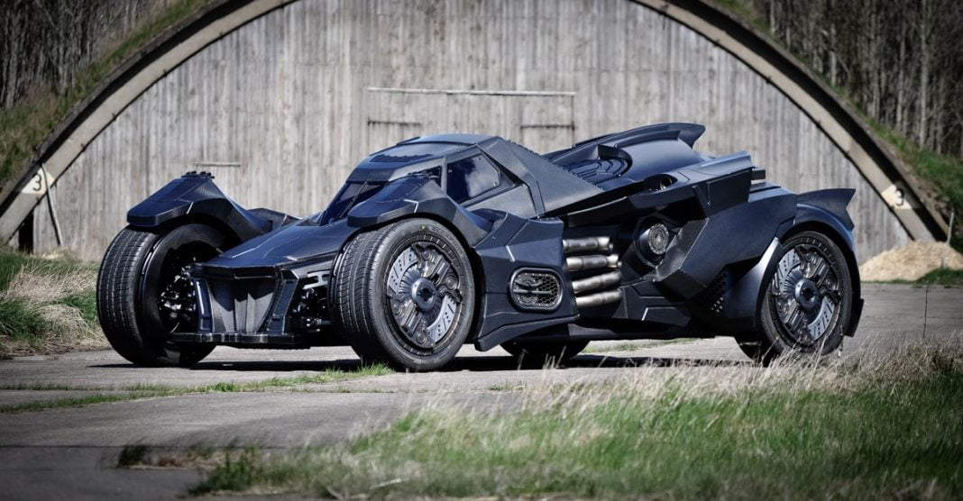 Arkham Knight Batmobile By Caresto
