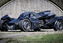 Arkham Knight Batmobile By Caresto
