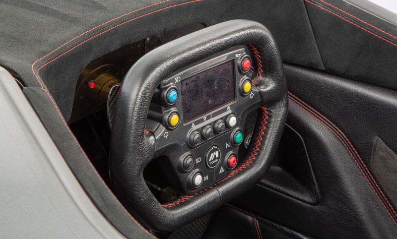 Formel 1 style steering wheel
