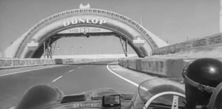 On Board with Mike Hawthorne driving the D-Type Jaguar From Le Mans 1956