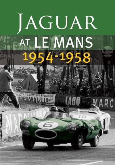 On Board the D-Type Jaguar From Le Mans 1956