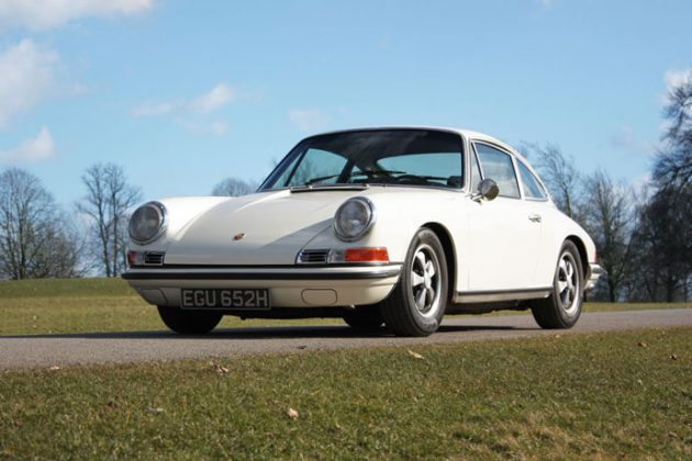 1970 911 E 2.2 MFI Coupe in Ivory