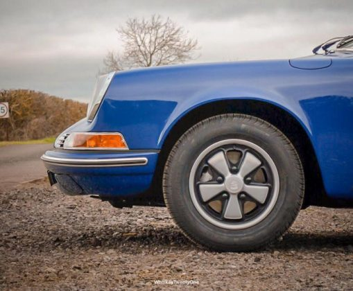 1969 911 T 2.0 Coupe in Ossi Blue